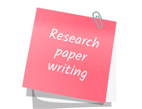 Helpful hints writing research paper
